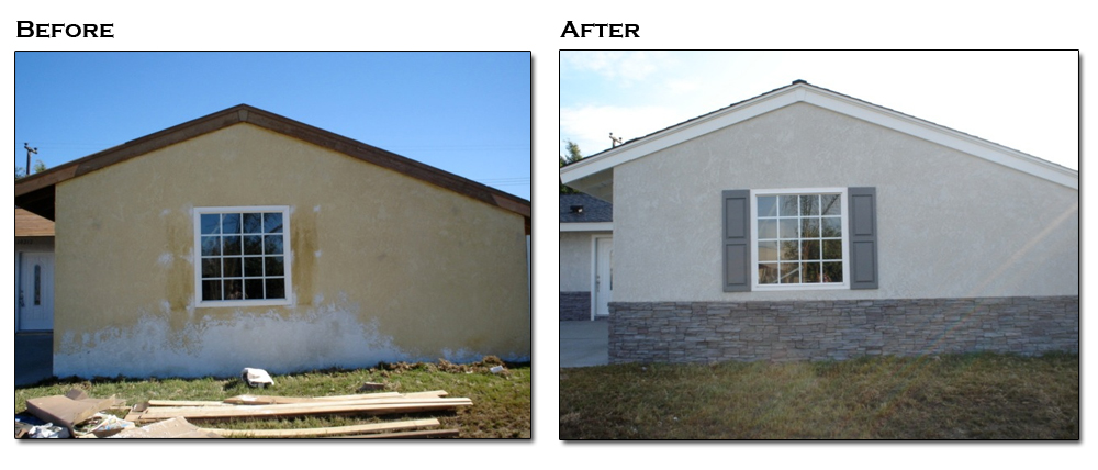Tex Cote Paint Before After Gallery